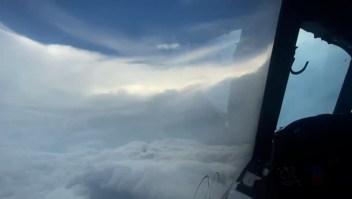 Así se veía Ida como huracán categoría 4 desde adentro