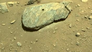 Perseverance hace segunda perforación de roca en Marte