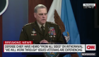 General habla del dolor y el odio por la guerra en Afganistán