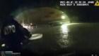 Captado en cámara: Dramático rescate de hombre en NY