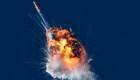 Cohete explota poco después de lanzamiento en California