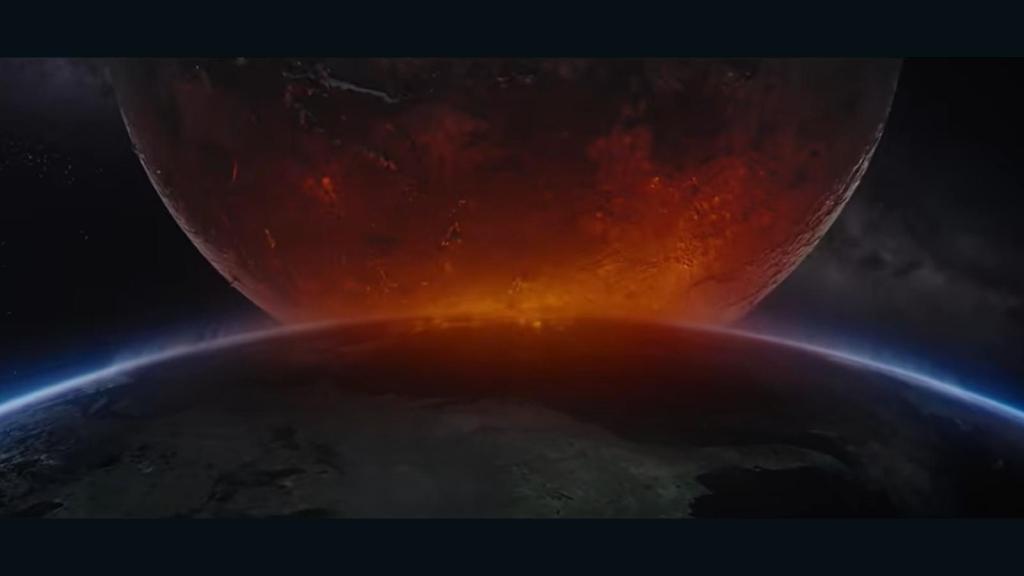 """""""Moonfall"""" muestra cómo 'impactaría' la Luna a la Tierra"""