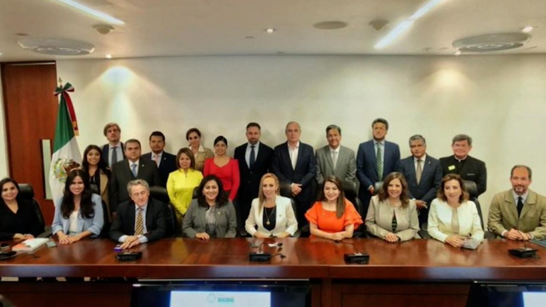 Madero: Reunión de senadores con VOX desdibuja al PAN