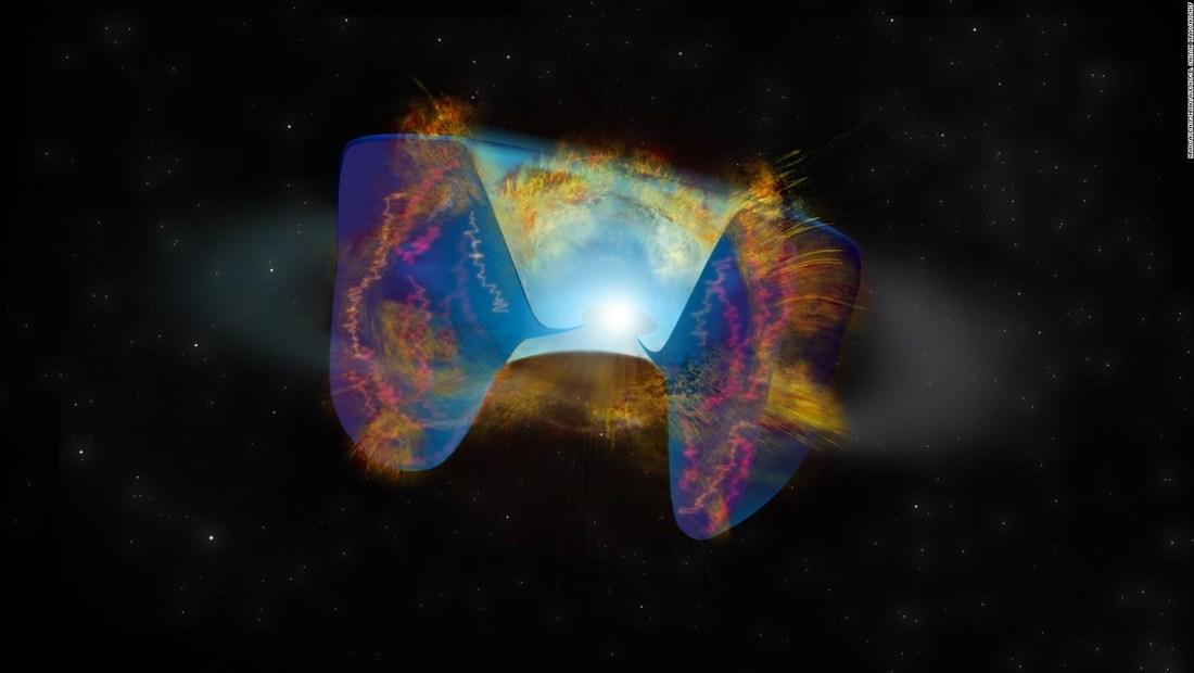 Descubren una explosión de supernova nunca antes vista
