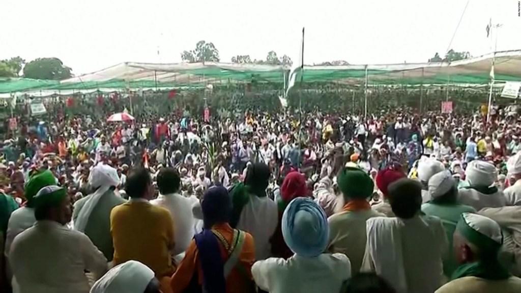 Regresan las protestas agrícolas en la India