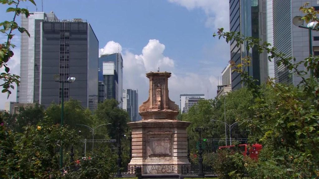 """Estatua """"Tlali"""" reemplazará a Colón en avenida de México"""
