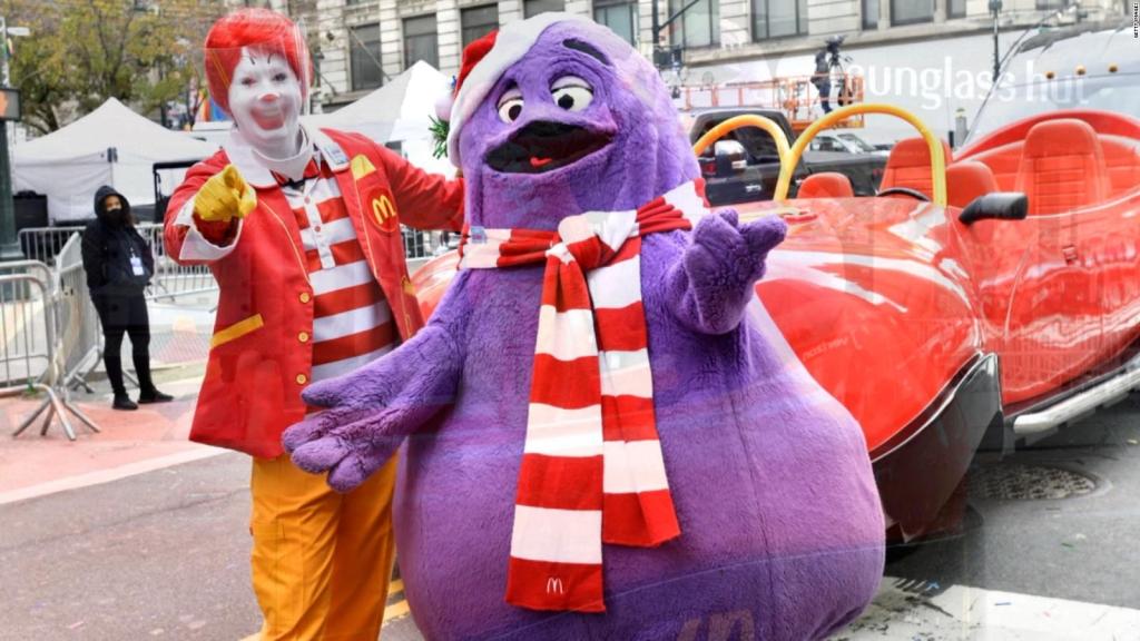 McDonald's revela el misterio de uno de sus personajes