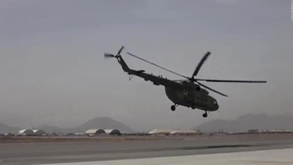 Piloto narra cómo su avión fue derribado por el talibán