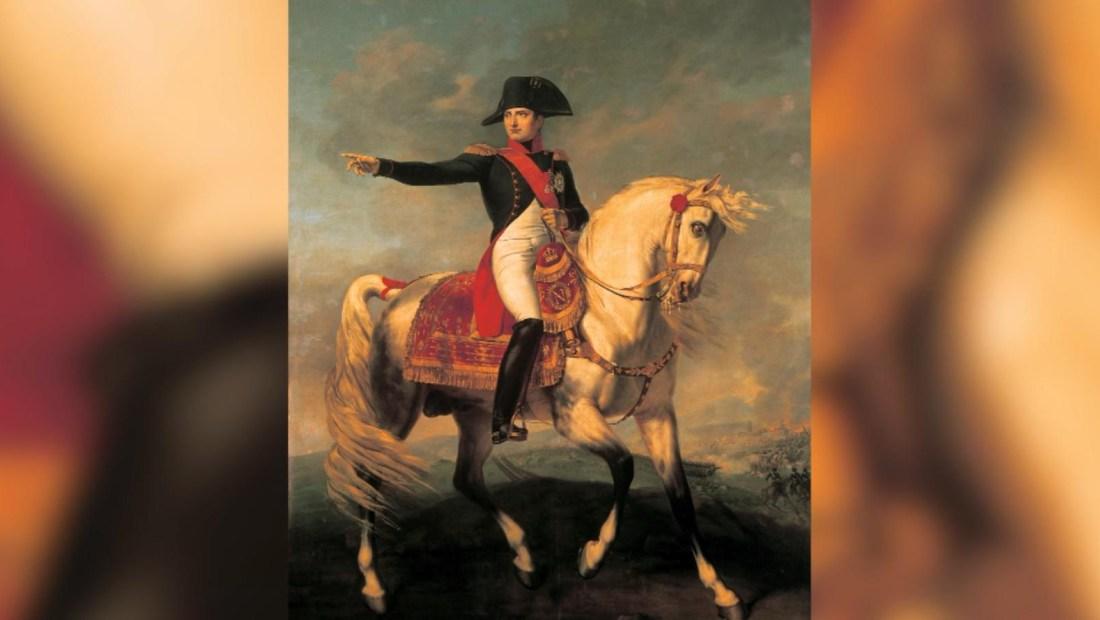 Sombrero con ADN de Napoleón Bonaparte