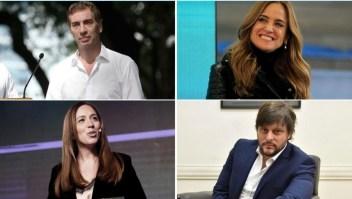 Los principales candidatos en las primarias legislativas