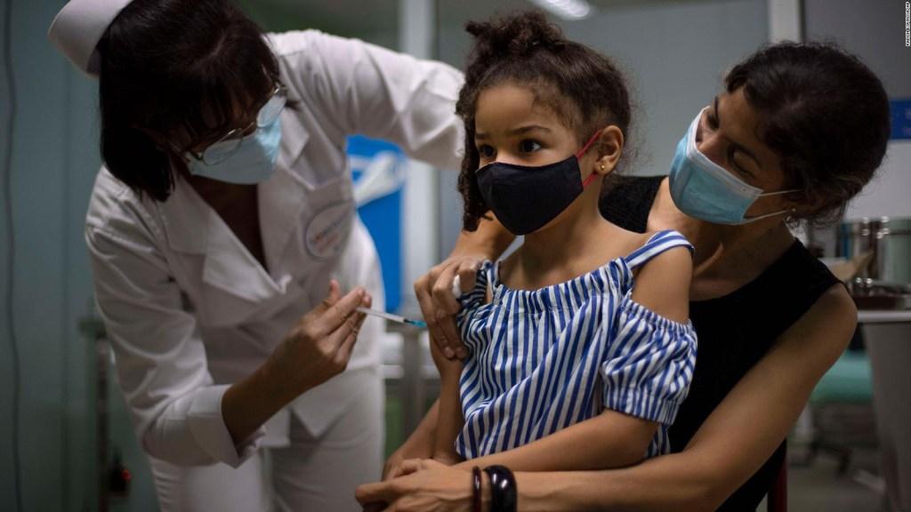 Cuba vaccinates children against covid