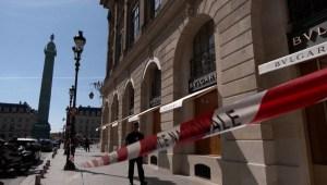 Capturan a tres sospechosos de robo a Bulgari en París