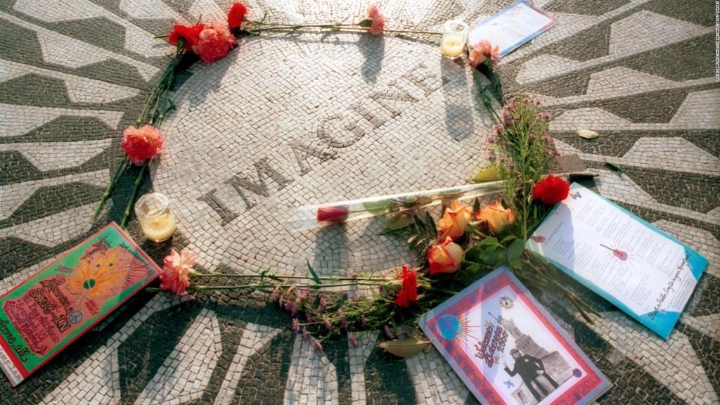 """""""Imaginer""""John Lennon fête ses 50 ans"""
