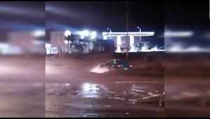 Alerta en Baja California por huracán Olaf