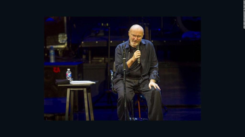 Phil Collins dice que ya no puede sostener una baqueta