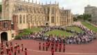 En el Castillo de Windsor recuerdan el 11S