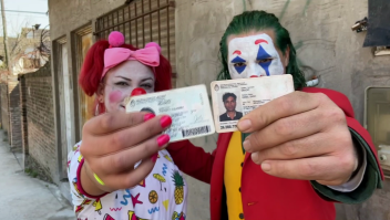 "El ""Joker"" argentino volvió a votar"
