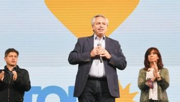 Alberto Fernández reconoce derrota en las PASO
