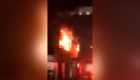 Evacúan a 30 pacientes por incendio
