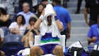 Djokovic llora tras perder ante Medvédev el US Open