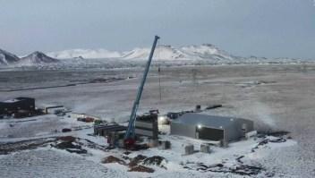 Islandia apuesta a la captura de dióxido de carbono