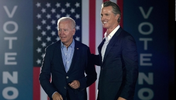 Biden: ¿Se imaginan a un clon de Trump gobernando California?