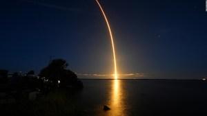 La primera imagen de la Tierra enviada por Inspiration4