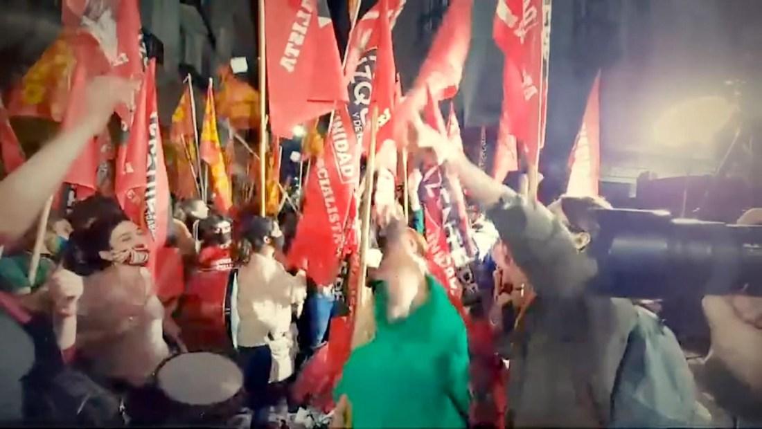 La izquierda se convierte en la tercera fuerza argentina