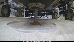 Exitosa excavación profunda completada por el ExoMars