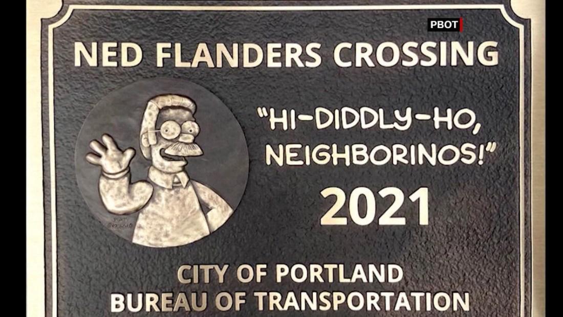 Este es el puente de Ned Flanders en EE.UU.