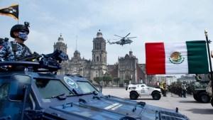 Así fue el desfile militar de la Independencia de México