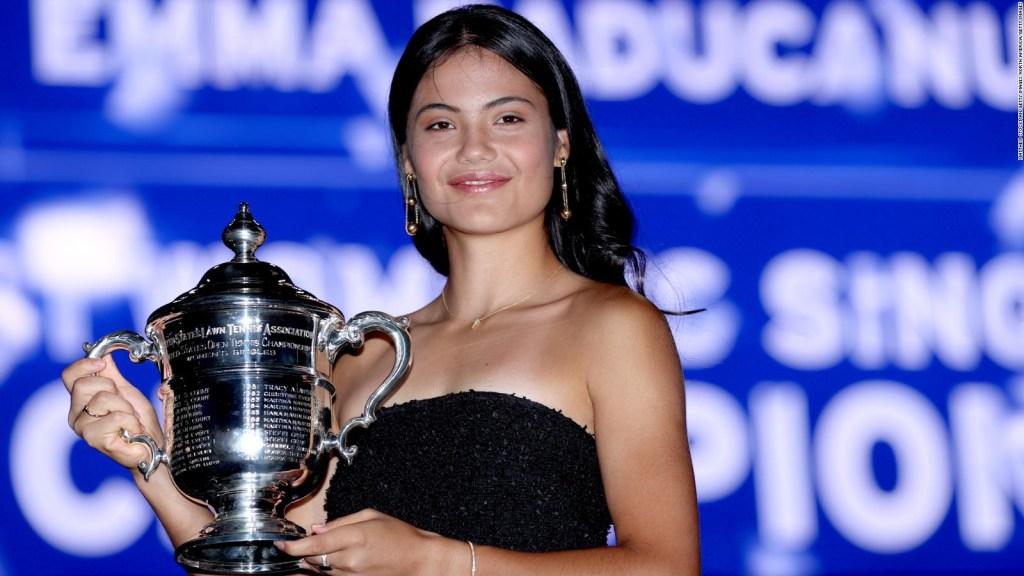 Raducano es la nueva sensación del tenis femenino