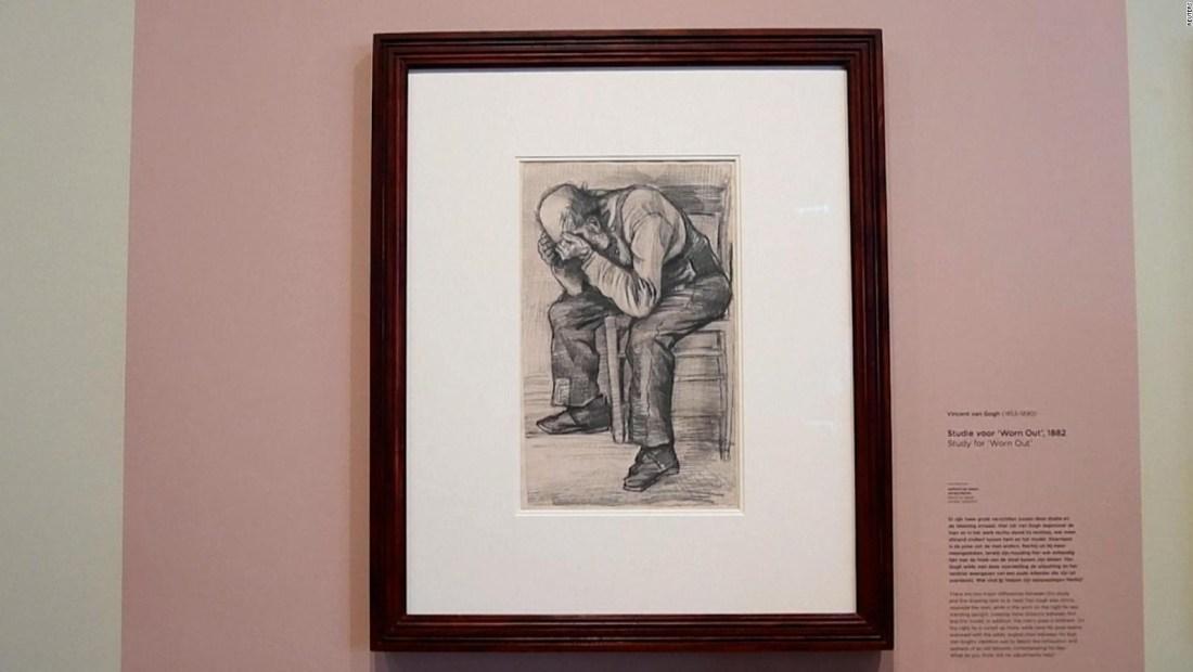 Descubren obra inédita de Van Gogh