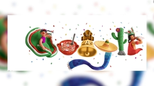 Doodle lanza fuegos artificiales para celebrar a México