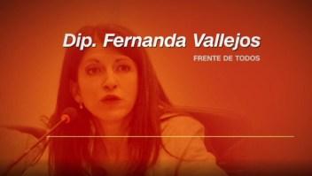 Audio: Diputada kirchnerista ataca a Alberto Fernández
