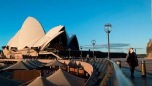 Programa piloto de cuarentena domiciliaria en Sydney