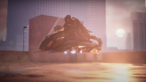 Exitoso ensayo de la primera motocicleta voladora