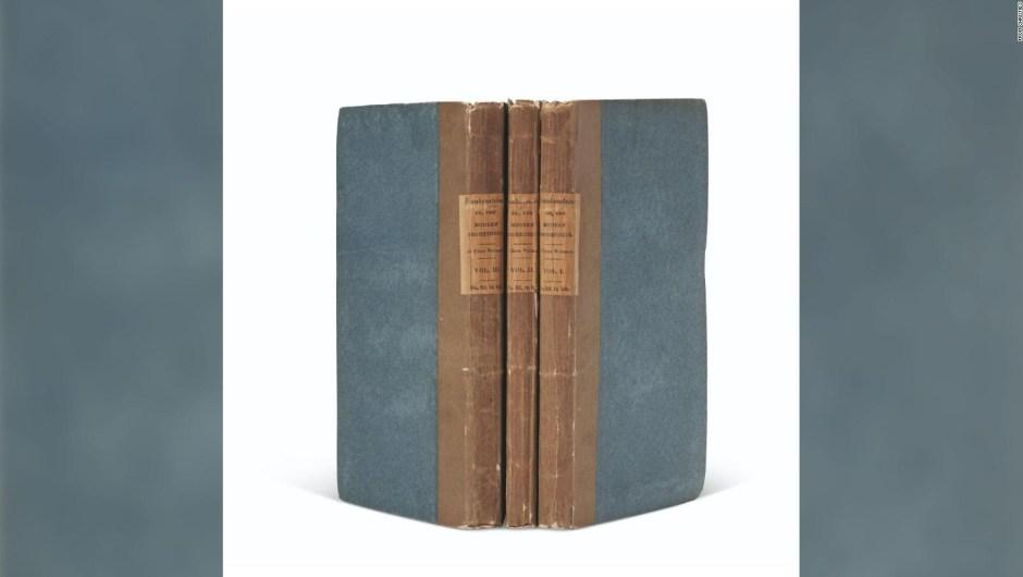 La copia de la primera edición de 'Frankenstein' se vende por más de US$ 1 millón en una subasta