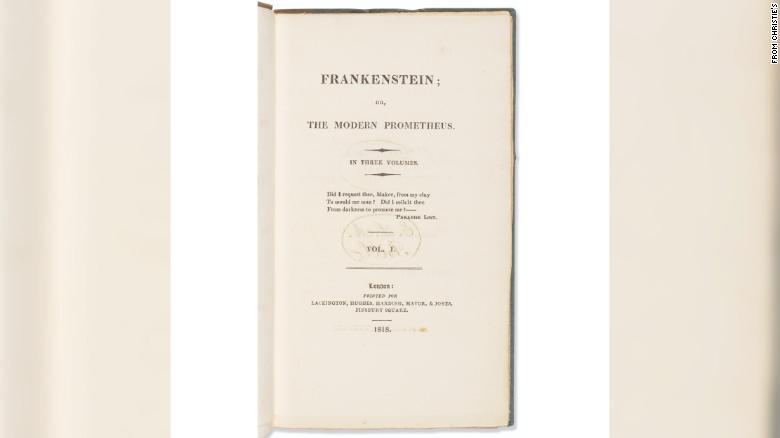 Copia Frankenstein primera edición