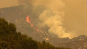 Condado Tulare bajo alerta de evacuación por incendio