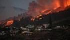 Así vive un residente la erupción del volcán de La Palma