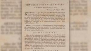 Subastan edición de la Constitución de EE.UU.