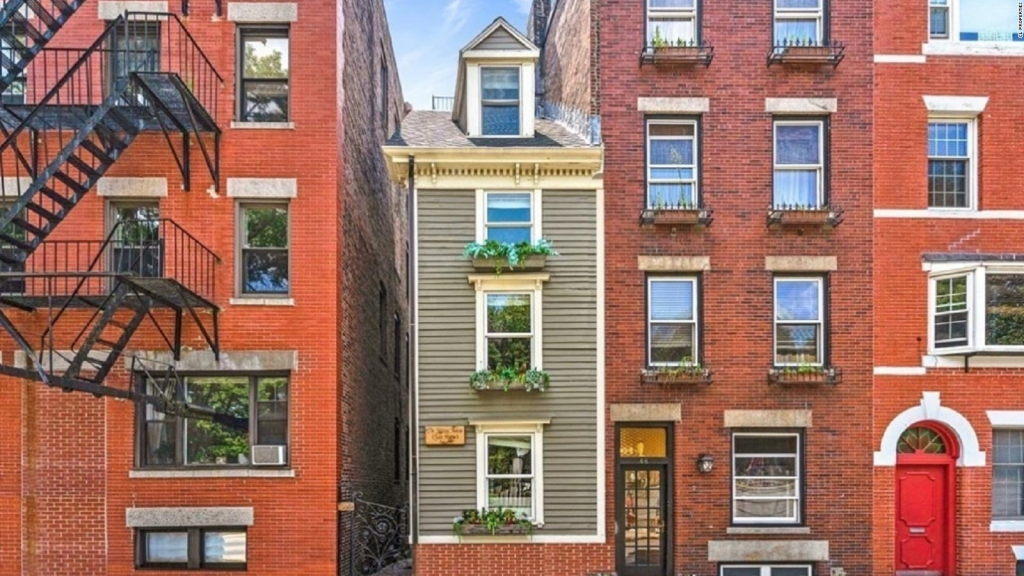 """La """"Skinny House"""" de Boston se vende por US$ 1,2 millones"""