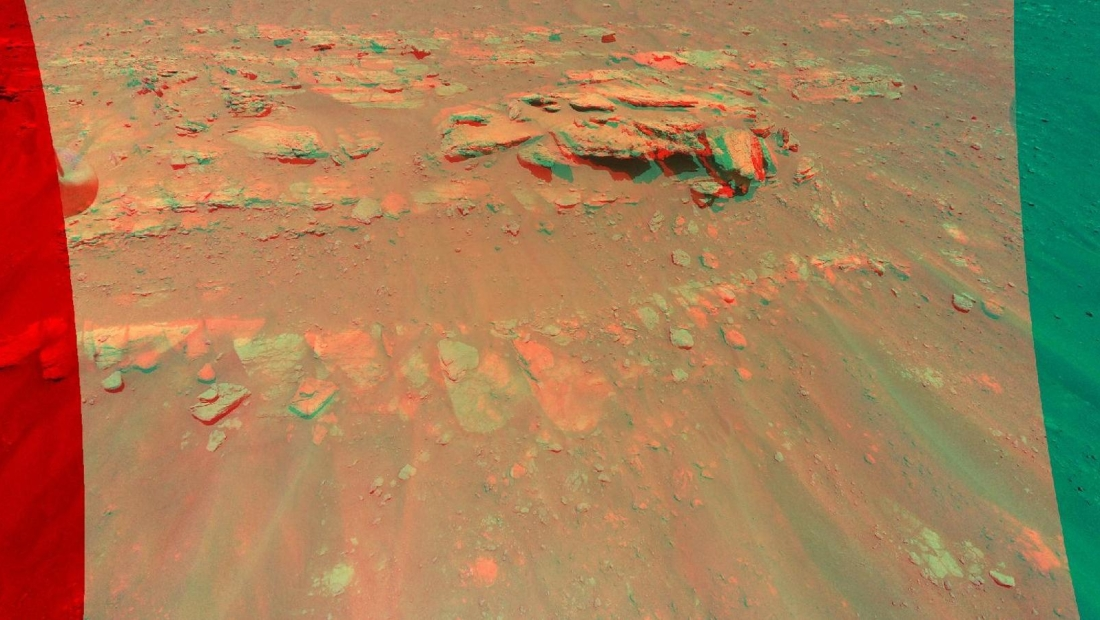 Mira lo que revela esta nueva imagen en 3D de Marte