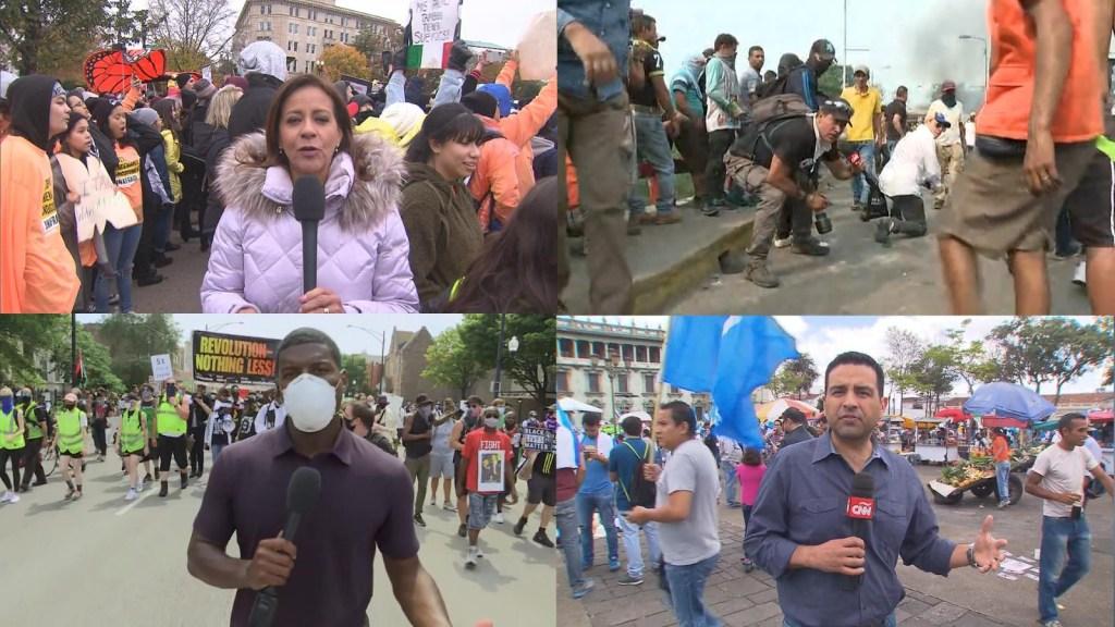 Periodistas de CNN hablan de responsabilidad como hispanos