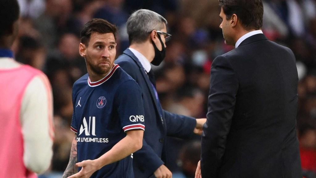 Pochettino y otros reaccionan a la sustitución de Messi