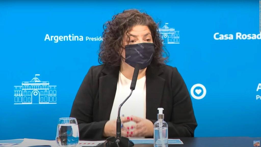 Argentina permite circular sin tapabocas