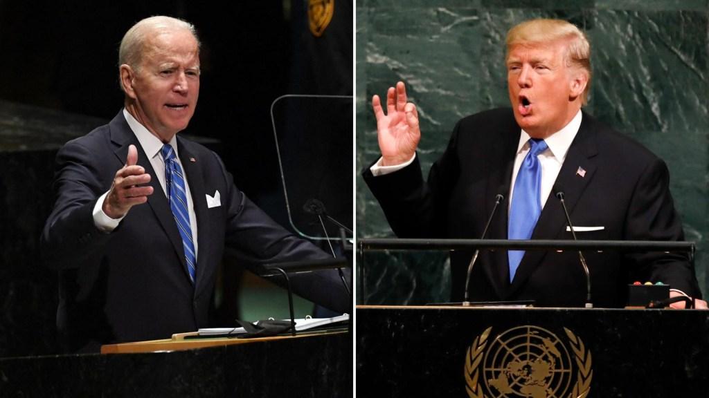 Mira los primeros discursos de Trump y Biden en la ONU