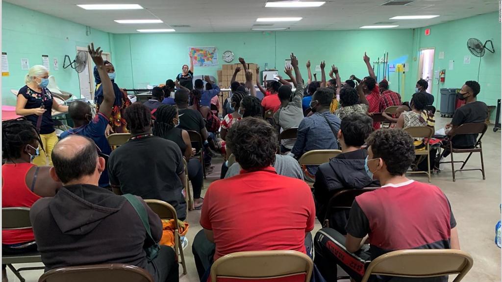 El camino de haitianos que lograron quedarse en EE.UU.