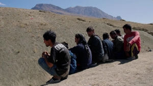 Así es el peligro recorrido de los afganos que huyen de los talibanes